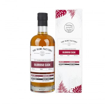 THE RUM FACTORY Double Cask Oloroso, 45% vol., 700ml