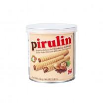 PIRULIN - Waffeln mit Schoko-/Hasselnusscreme - Barquillas Rellenas de Chocolate y Avellanas, 155g