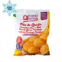 Pão de Queijo Congelado (Tiefkühlprodukt) FORNO DE MINAS Tradicional Cru 400g