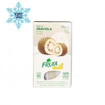 FRUTAMIL Stachelannone Fruchtpüree - TK-Produkt - Polpa de Graviola, 400g