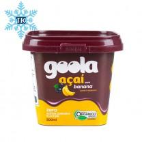 GOOLA Premium Açaí + Banane Sorbet - Sorvete Premium de Açaí + Banana, 250ml  (Tiefkühlprodukt)