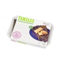 LA REINA - Tamales mit Gemüse, vegan - Tamales Veganos, 300g