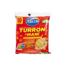 ARCOR - Gefüllte Waffeln - Oblea Rellena con Pasta de Turrón y Maní, 250g