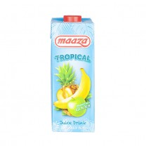 MAAZA Tropical Multi- Fruchtsaftgetränk - Suco Tropical, 1 l