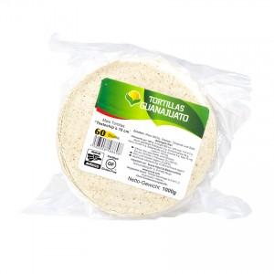 GUANAJUATO Tostochips- Mais Tortillas z.Frittieren Tortillas de Maíz para Freir, Ø 15cm, 1000g