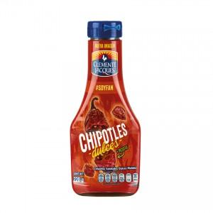 CLEMENTE JACQUES Soße aus süßen Chipotle - Chilis Chipotles Adobados Dulces Molidos 220g