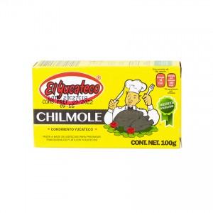 EL YUCATECO Chilmole Gewürzpaste- Condimento Chilmole, 100g