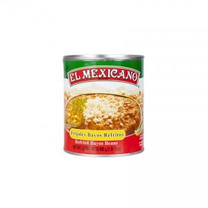 EL MEXICANO Frittierte Bayo-Bohnen - Frijoles Bayos Refritos, 800g