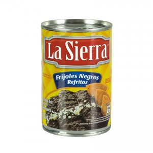 LA SIERRA Frittiertes Schwarzes Bohnenpüree Frijoles Negros Refritos 430g