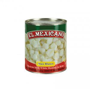 EL MEXICANO Mexikanischer weißer Mais Maíz Blanco 822g