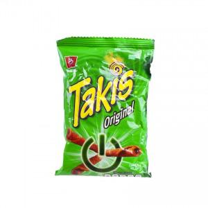 BARCEL Takis Original - Tortilla Chips - Papitas de Maíz, 60g