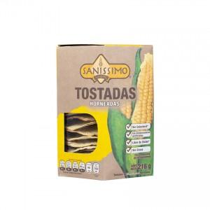 SANISSIMO Gebackene Maistortillas - Tostadas Horneadas, 216g