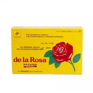 DE LA ROSA - Mazapan Original - Mexikanische Süßigkeit aus Erdnüssen - Dulce de Cacahuate, 336g