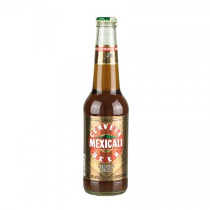 MEXICALI Dunkles Bier aus Mexiko Cerveza Special Dark Beer 330ml 5,5% vol