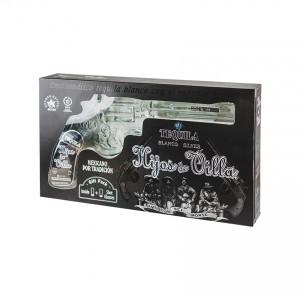 Tequila Blanco HIJOS DE VILLA (Pistol), 200ml