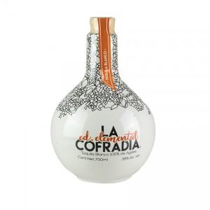 Tequila Blanco LA COFRADIA Ed. Elemental, 38% vol.