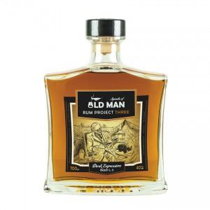Spirits of OLD MAN Three - Dark Expression Brauner Rum, 700ml, 40%vol