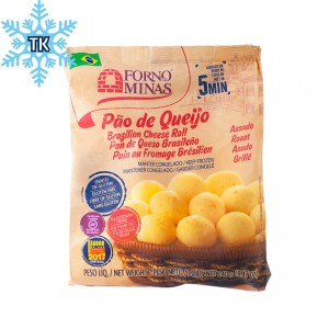 FORNO DE MINAS Tiefkühl-Käsebrötchen zum Aufbacken Pão de Queijo Tradicional Assado Congelado 240g