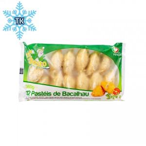 FRIGOSTO - Stockfisch Kroketten - Bolinhos de Bacalhau, 360g -  (Tiefkühlprodukt)