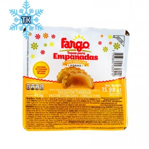 Tapas para Empanadas Criollas (Tiefkühlprodukt) - Horno- FARGO 453g