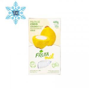 FRUTAMIL Kokosnuss Fruchtpüree - TK-Produkt - Polpa de Coco, 400g