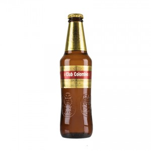 CLUB COLOMBIA Kolumbianisches Bier Cerveza 330ml