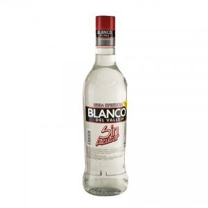 Aguardiente BLANCO DEL VALLE sin Azucar 29% vol.