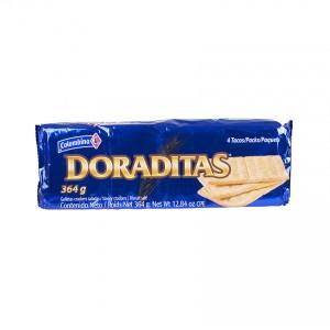 COLOMBINA Crakeñas Doraditas - Salzcracker - Galletas Saladas, 364g