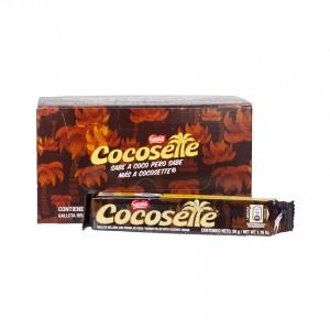 NESTLE Cocosette - Waffelkekse mit Kokoscreme - Galletas Rellenas con Crema de Coco, 50g