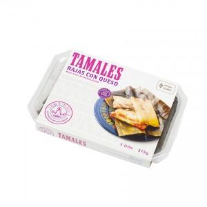 LA REINA - Tamales mit Chilis und Käse - Tamales de Rajas con Queso, 315g