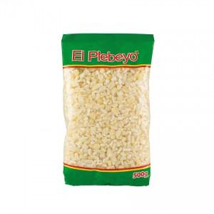 Maíz Trillado Blanco EL PLEBEYO 500g