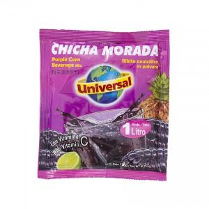 UNIVERSAL Lila-Mais-Geschmack Getränkepulver Mezcla para Refresco Chicha Morada 120g