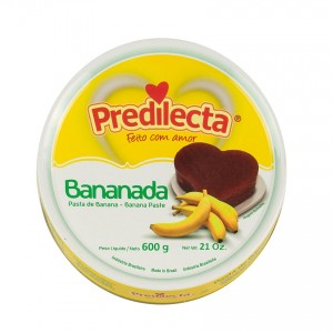 PREDILECTA Bananen-Dessert Bananada 600g