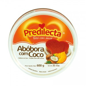 PREDILECTA Kürbis-Kokos Dessert Doce de Abóbora com Côco 600g