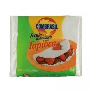 Fécula de Mandioca para Tapioca COMBRASIL 500g