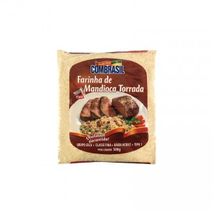 Farinha de Mandioca Torrada COMBRASIL 500g