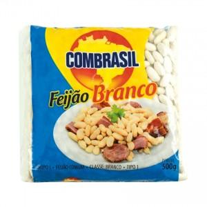 COMBRASIL Weiße Bohnen Feijão Branco 500g