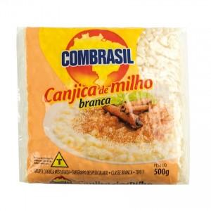 COMBRASIL Geschälter weisser Mais Canjica Branca 500g