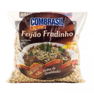COMBRASIL Schwarzaugenbohnen Spezialqualität Feijão Fradinho 500g