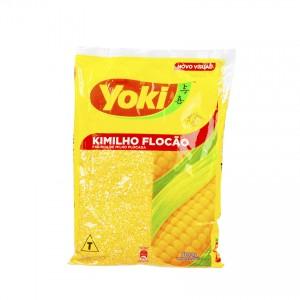 YOKI Maismehl-Flocken Farinha de Milho Flocão Kimilho 500g