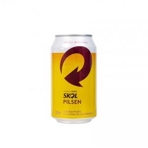 SKOL Bier Cerveja, Dose 350ml, 4,7%vol