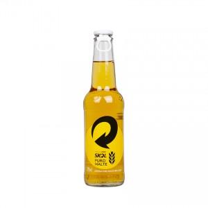 SKOL Puro Malte Bier - Cerveja, Flasche 275ml. 4,4% vol.