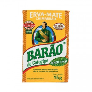 BARÃO Mate-Tee - Yerba Mate Tradicional 1kg