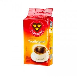3 CORAÇÕES  Gemahlener Kaffee Café tradicional 250g