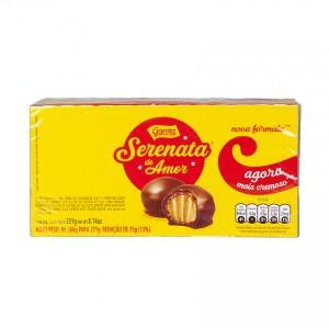 GAROTO Schokoladen Bonbons Cashewmus Chocolates Serenata de Amor creme de castanha de caju 231g