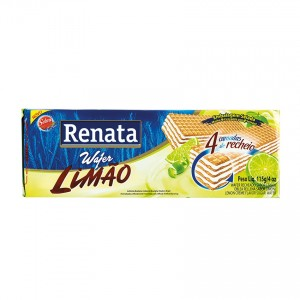 Wafer RENATA Limão 115g