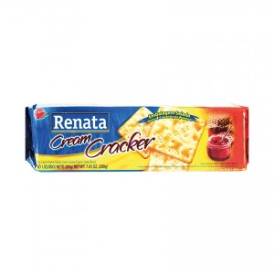 RENATA Cream Cracker Keks Biscoito Cream Cracker 200g