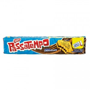 Passatempo Recheado Chocolate 140g