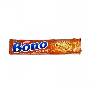 NESTLÉ Milchkaramelle Doppelkeks Bono Recheado Doce de Leite 126g