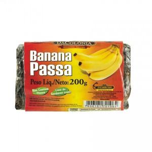Banana Passa DACOLONIA 200g